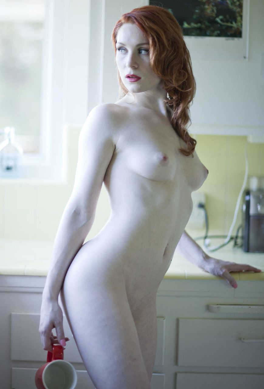 Nice naked pale woman