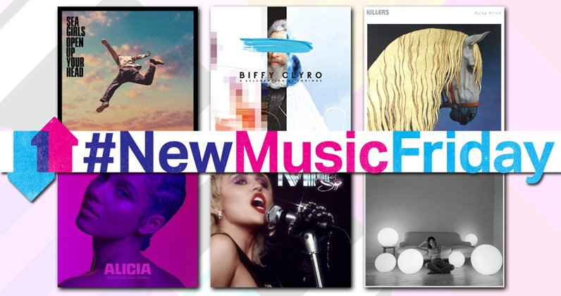 All new music albums