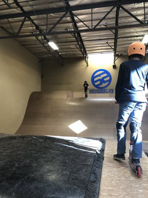 The scooter zone