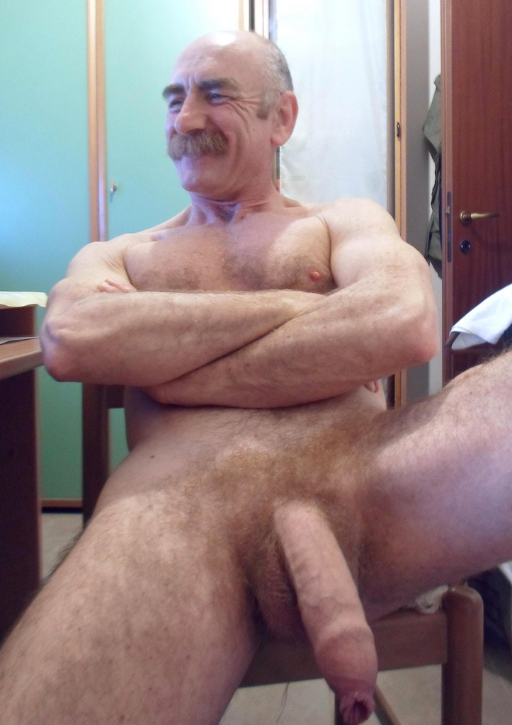 Daddy uncut cock